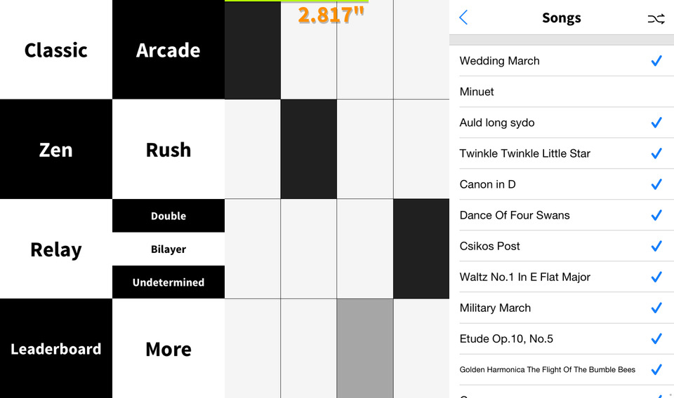 Photo of Piano Tiles, não toque nos brancos
