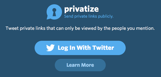 Photo of Privatize permite links restritos na Timeline do Twitter