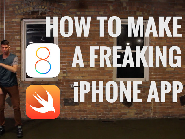Photo of How to Make a Freaking iPhone App with iOS 8 and Swift