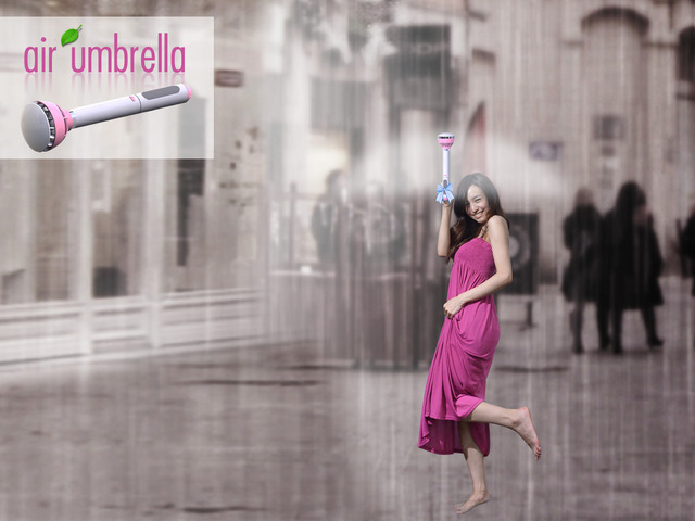 Photo of Air umbrella, guarda-chuva de vento