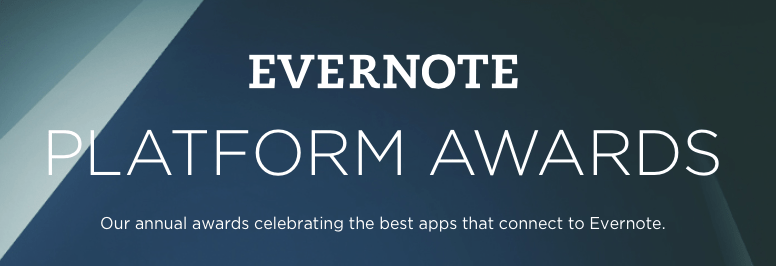 Photo of Evernote Platform Awards 2014: Apps vencedores