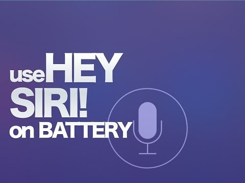 "Photo of ""Hey Siri"" sem estar conectado na energia"