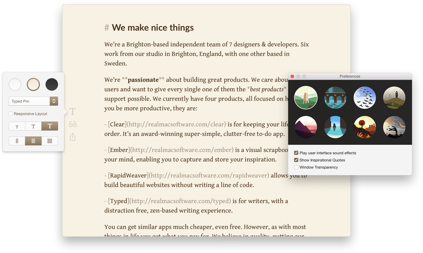 Photo of Typed, markdown minimalista para Mac