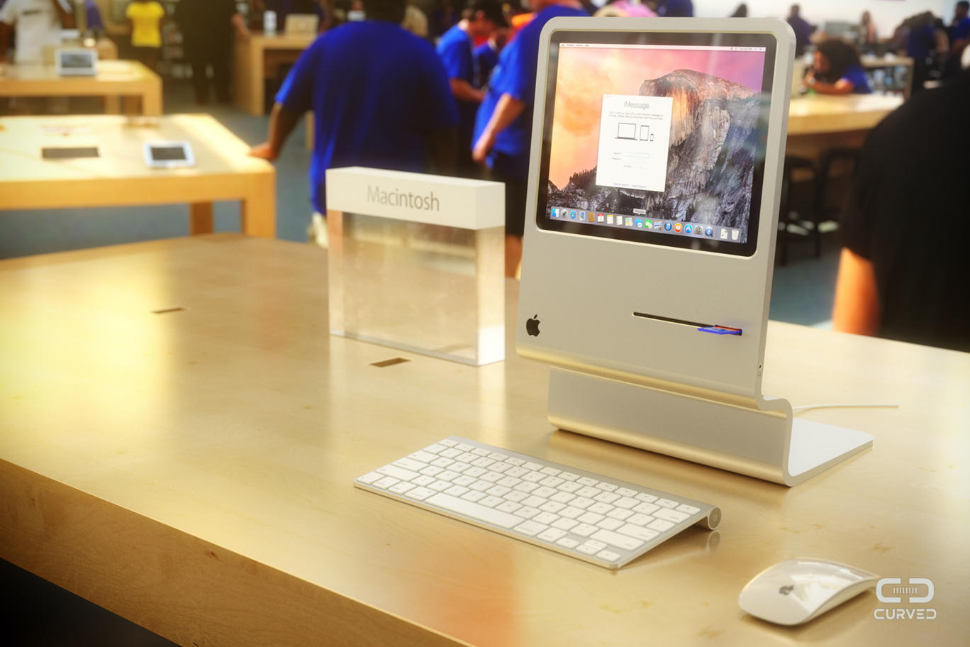 Photo of Conceito de Macintosh 2015