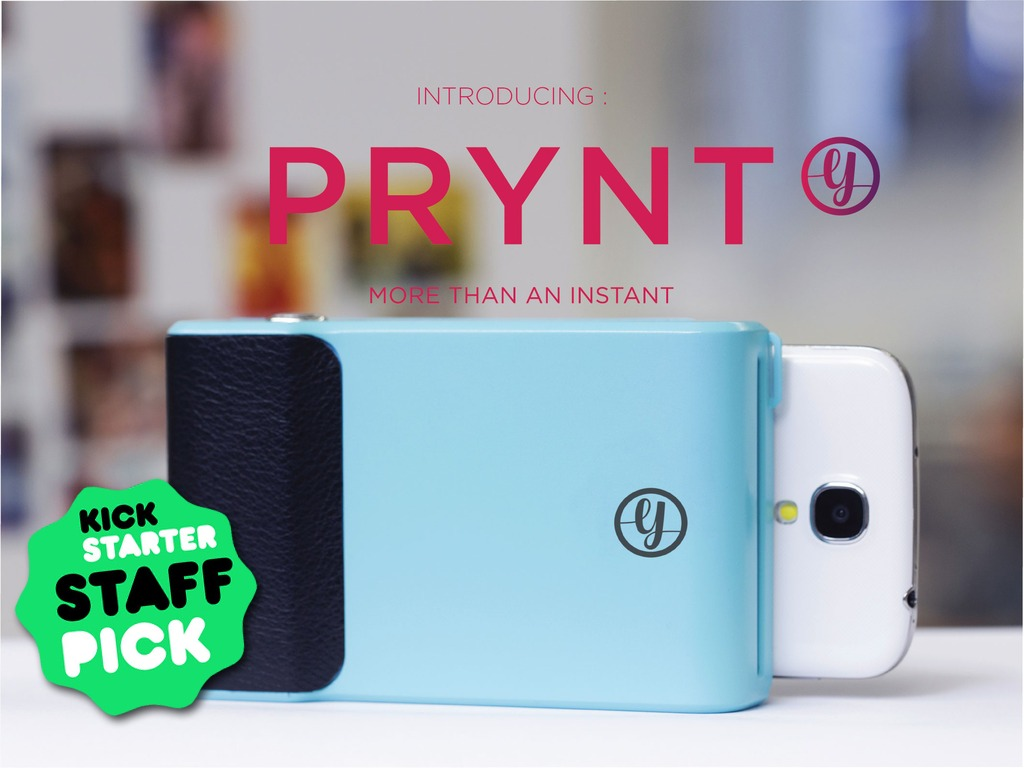 "Photo of Prynt, case ""polaroid"" para iPhone e Android"