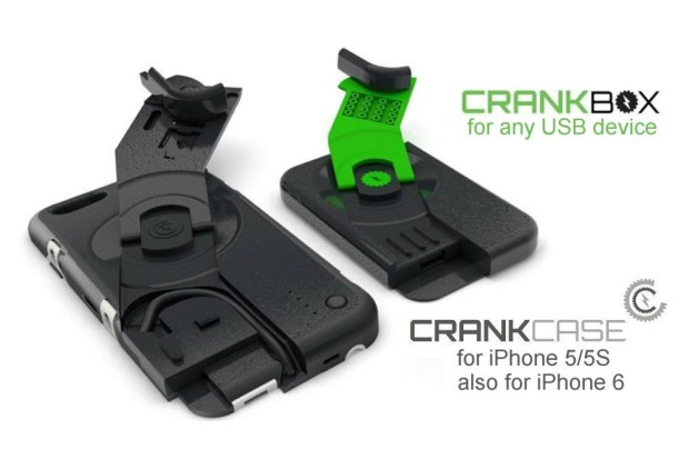 "Photo of CrankCase, case ""dínamo"" para iPhone"