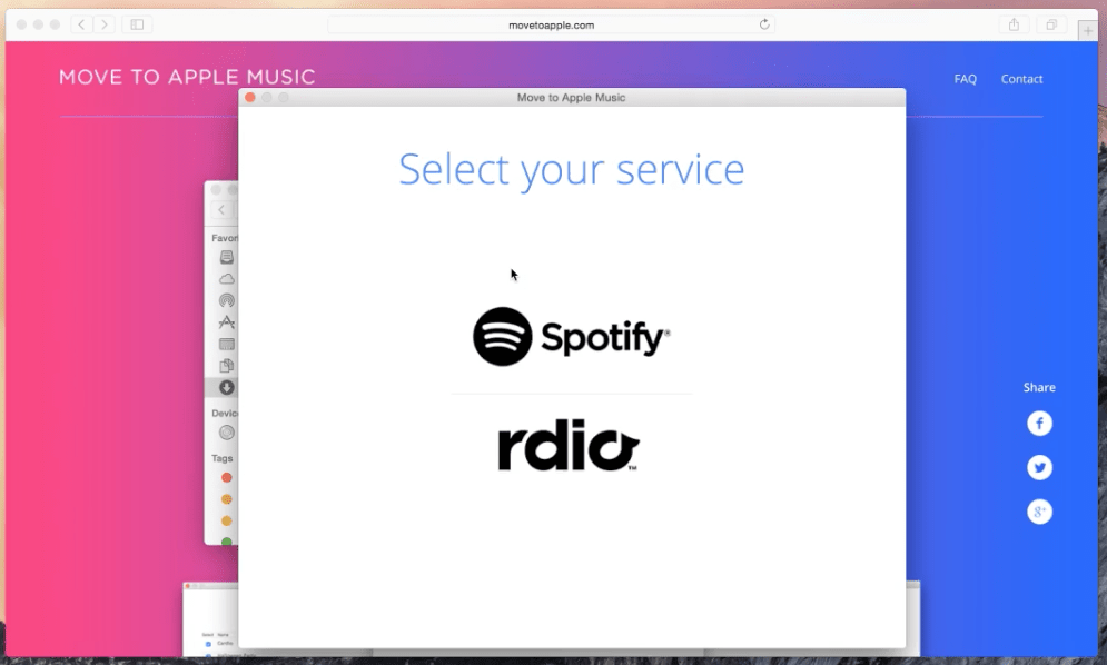 Photo of MoveToApple leva do Spotify ou Rdio para o Apple Music