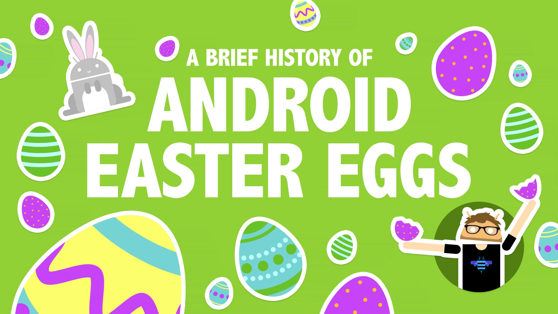 Photo of Easter Eggs do Android