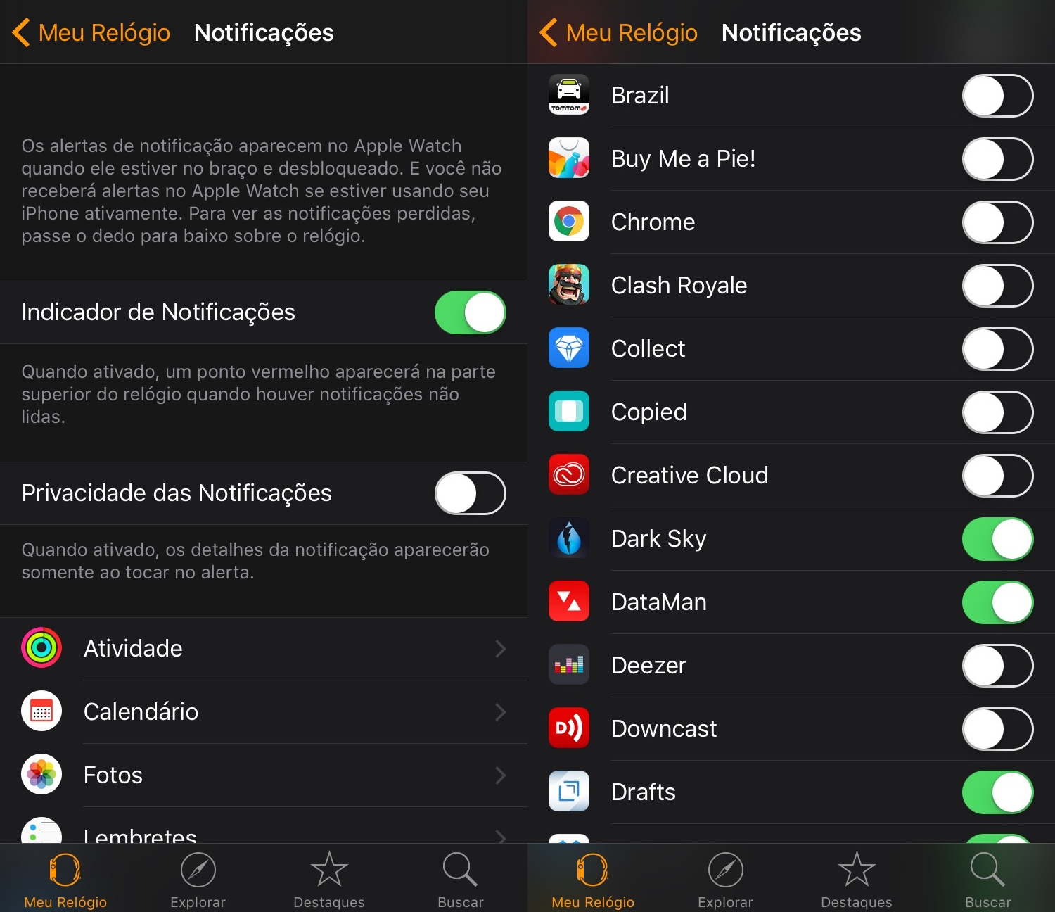 Photo of Política de Notificações no Apple Watch