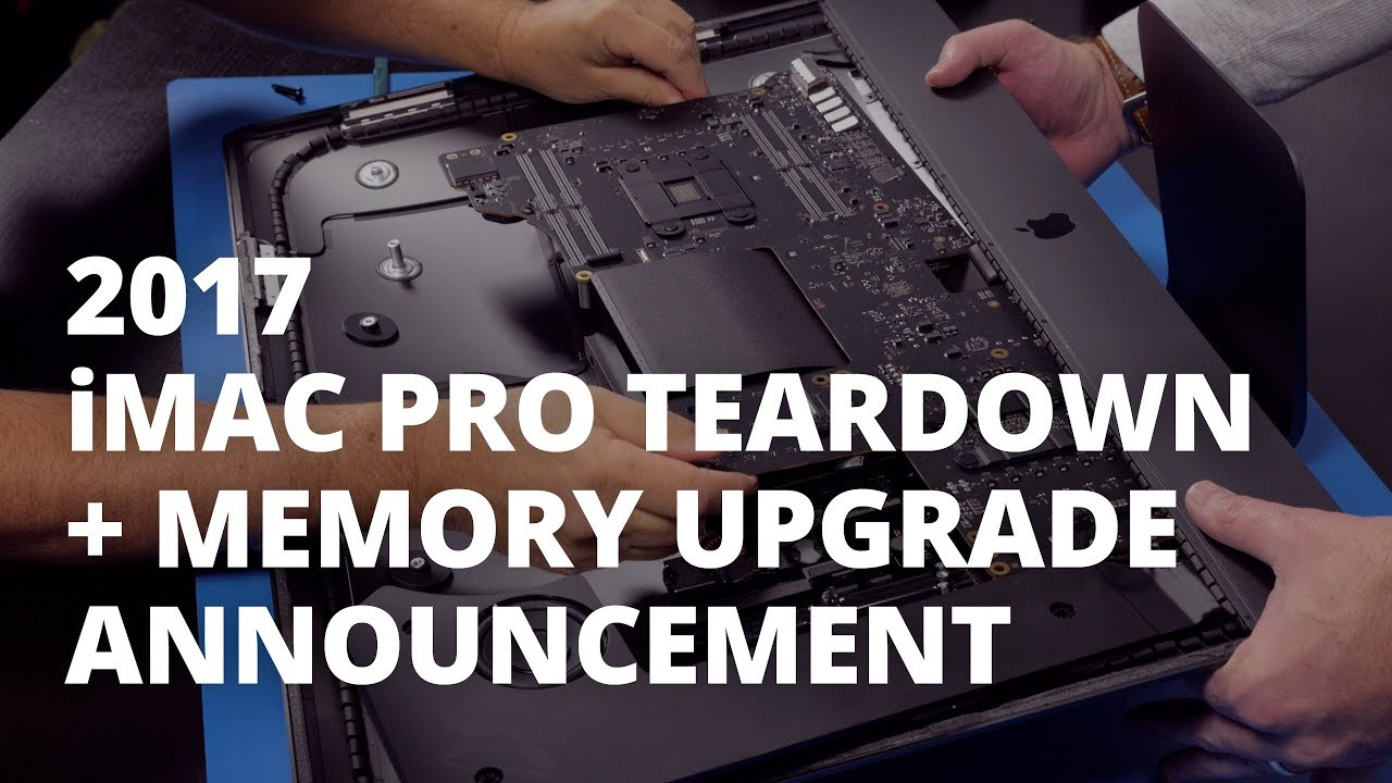Photo of Teardown do iMac Pro