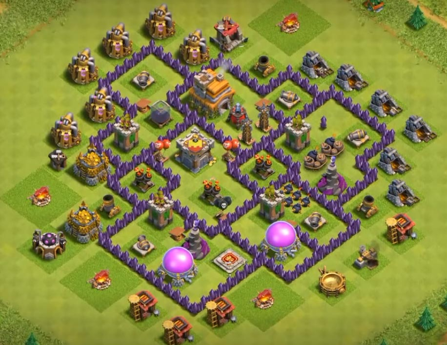 epic th7 defending village anti all