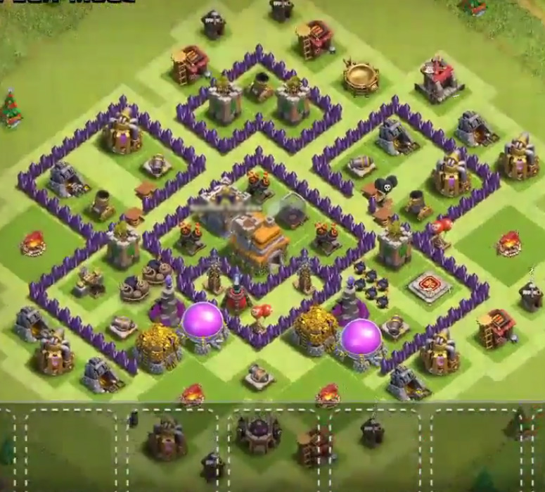 excellent level 7 anti hog base