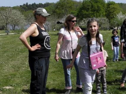 Ingrid, Virginie et Camille