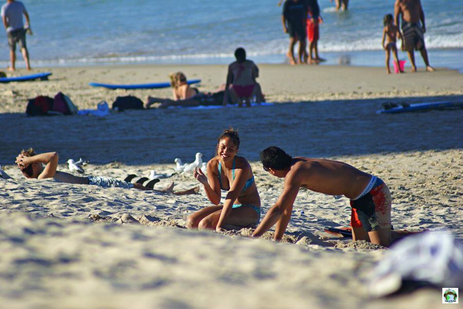 Spiaggia australiana Gold Coast