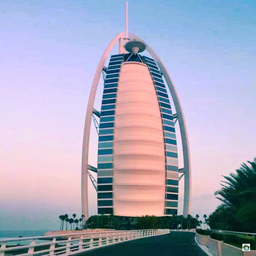 Cena romantica sott'acqua al Burj Al Arab