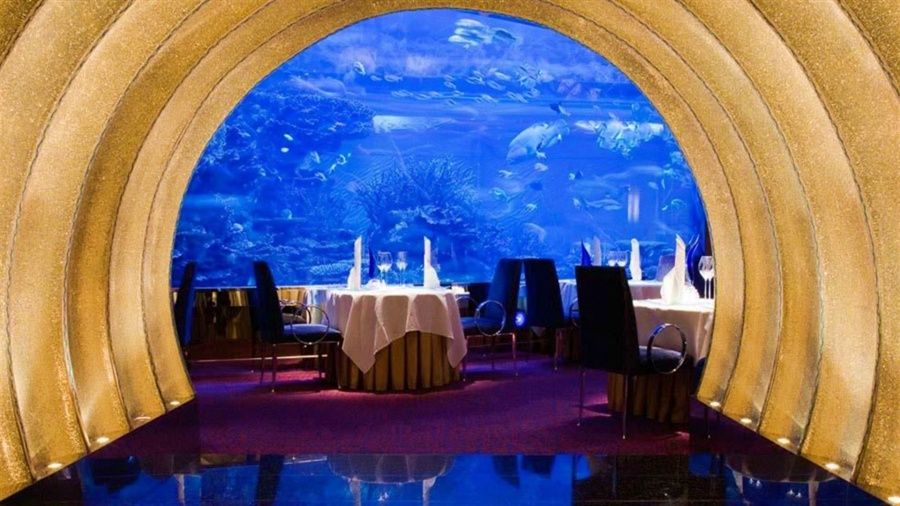 Cena romantica Al Mahara Burj Al Arab Dubai