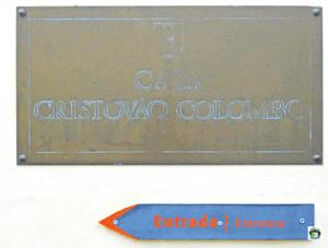 Entrata della casa di Cristoforo Colombo