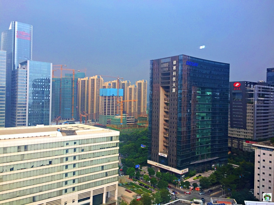 Reportage from Shenzhen grattacieli
