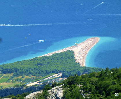 Zlatni Rat spiaggia di Bol - Cocco on the road