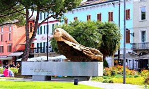 in onore degli aviatori Desenzano - Cocco on the road