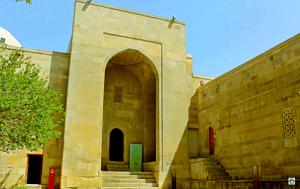 Baku Palazzo degli Shirvanshah - Cocco on the road