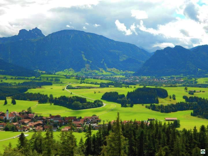 Panorama di Fussen