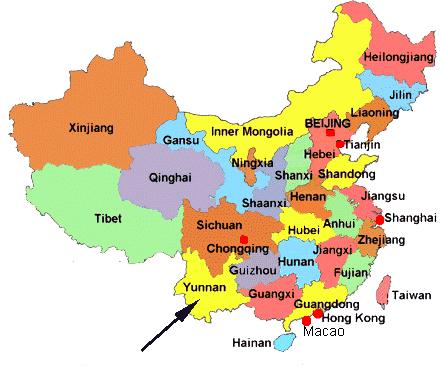 Yunnan Cina cosa vedere