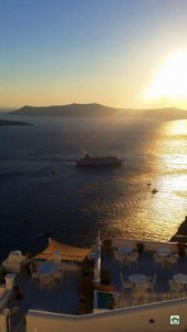Tramonto a Santorini - Cocco on the road