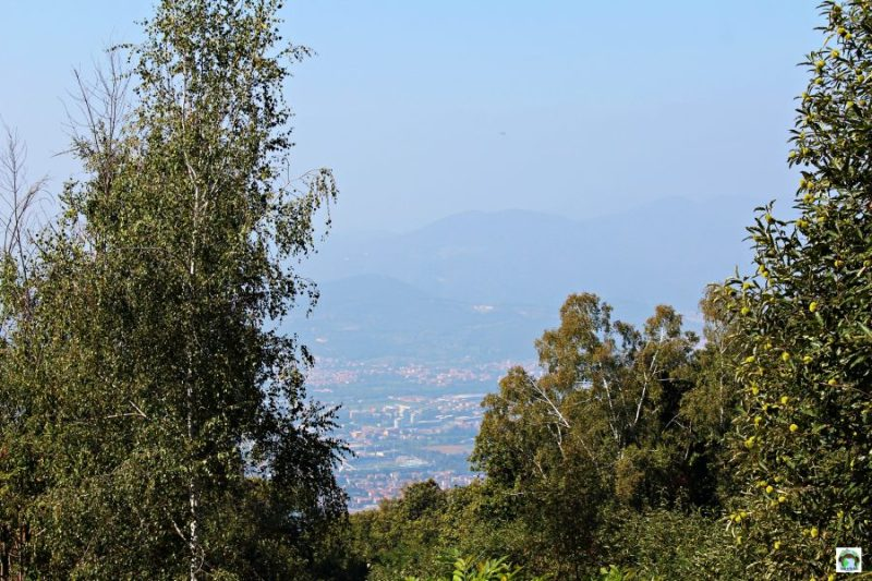 Panorama Monte Maddalena Brescia
