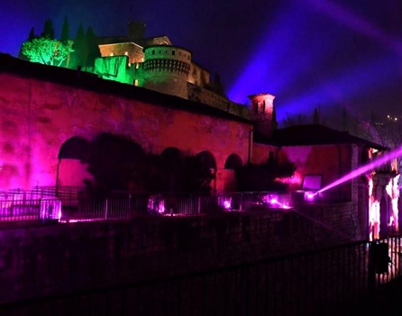 Festival internazionale delle luci a Brescia CidneOn