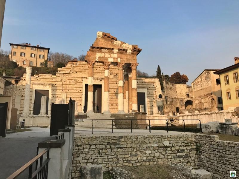 Tempio Capitolino Capitolium cosa vedere a Brescia