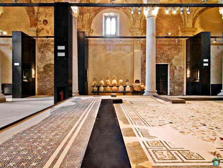 Museo archeologico di San Lorenzo - Cocco on the road