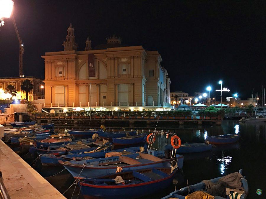 Vacanze a Bari cosa vedere la sera