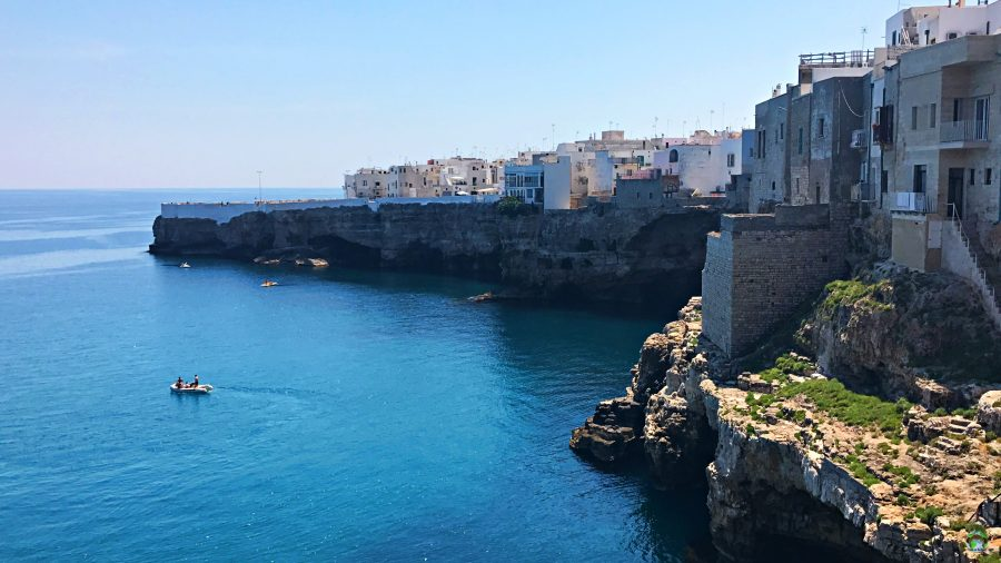 Polignano Vista dall'alto - Cocco on the road