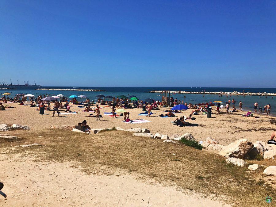 Spiaggia di Pane e Pomodoro a Bari - Cocco on the road