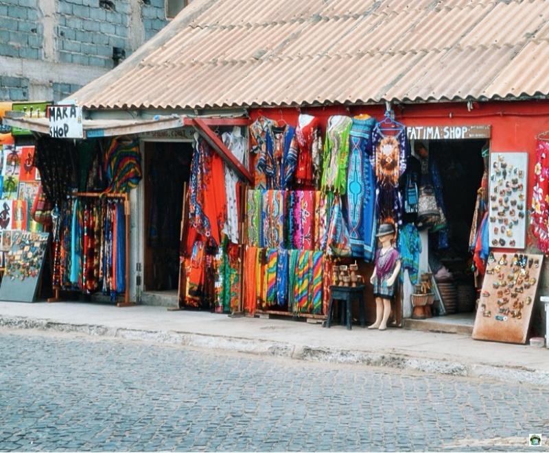 negozio souvenir Isola di Sal