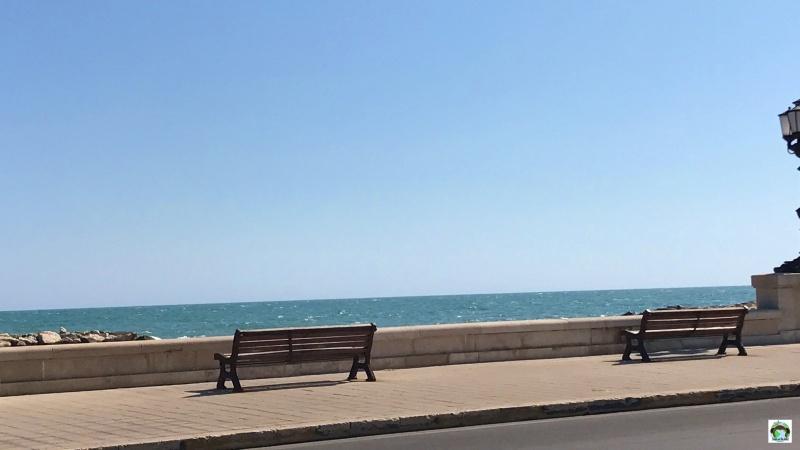 lungomare di Bari on the road