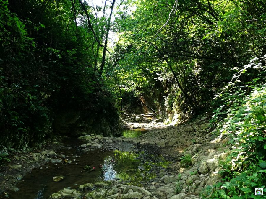 Percorso cascate Monticelli Brusati