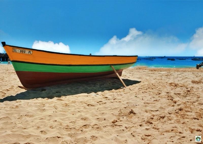 barca mare e spiaggia