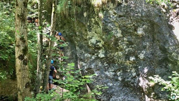 Ferrate Casto arrampicata