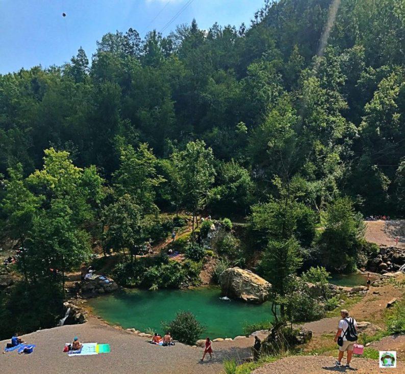 Laghetto al parco delle Fucine di Casto - Cocco on the road