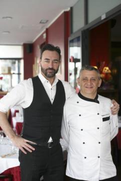 Francesco il proprietario e Mauro lo Chef