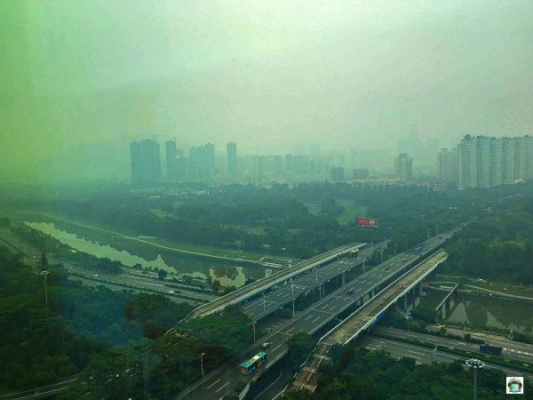 Shenzhen vista da casa mia