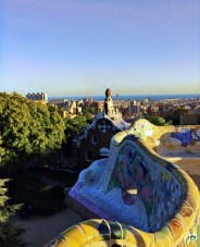 Parc Guell - Cocco on the road