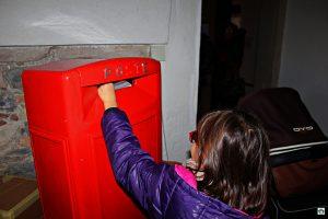 Spedire la lettera a Babbo Natale - Cocco on the road