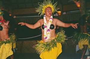 Huahine Polinesia francese donne polinesiane