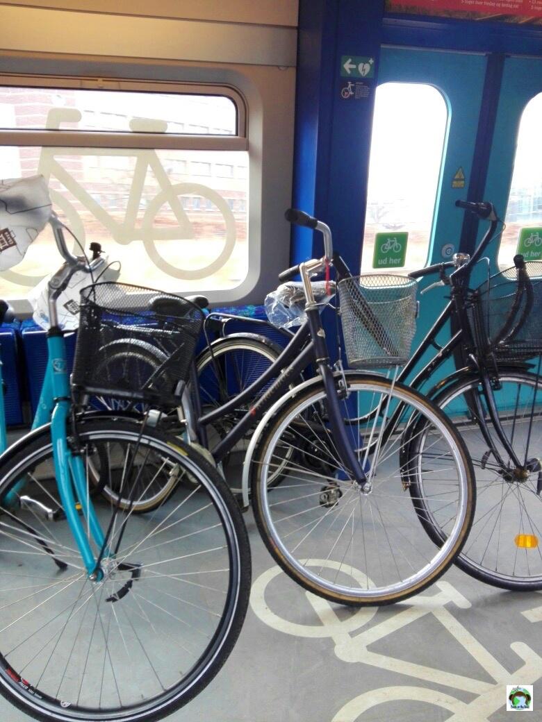 Come trasportare biciclette a Copenaghen