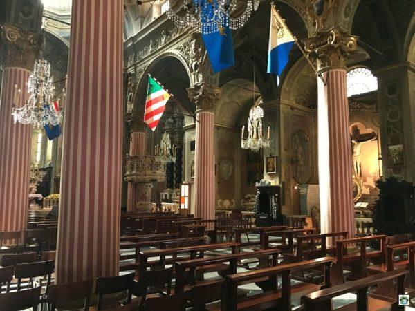 interno chiesa di San Ambrogio