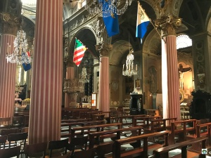 Interno Chiesa San Ambrogio a Varazze - Cocco on the road