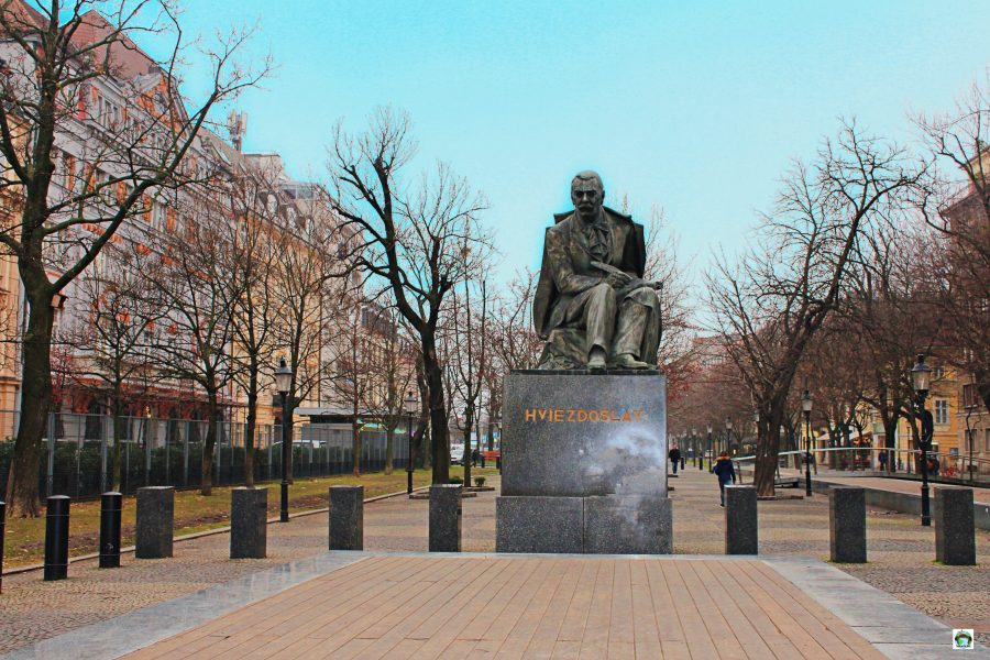 Piazza Hviezdoslav Bratislava - Cocco on the road
